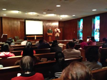 Sharing in the Memphis Chinese Evangelical Church
